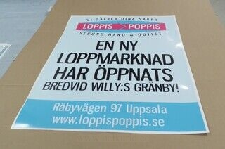 Reklaamkleebis - LoppisPoppis