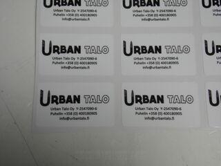 Logokleebised - Urban Talo