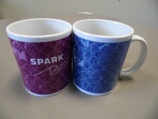 Logoga kruusid - Spark Demo