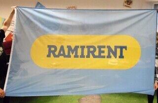 Mastilipp logoga - Ramirent