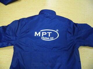 Logoga tööjope - MPT Ehitus