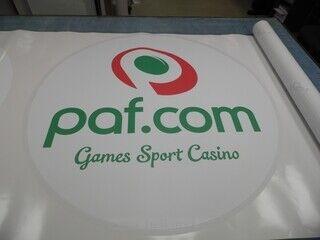 Logokleebis - paf.ee