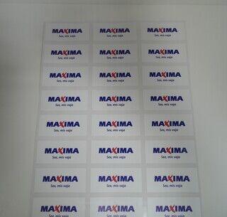 Logokleebised - Maxima