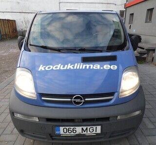 Reklaamkleebised sõidukil - kodukliima.ee