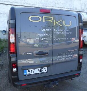 Reklaamkleebised kaubiku tagaküljel - Orku.ee