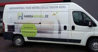 Autokleebised kaubikul - Hansamööbel.ee