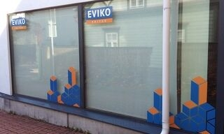 Reklaamkleebised vaateaknale - Eviko Ehitus