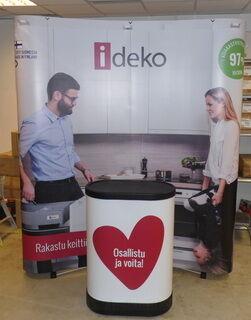 Reklaamsein messilauaga - iDeko
