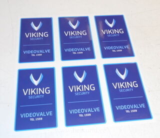 Logokleebised - Viking Security