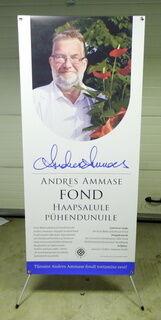 X-bänner - Andres Ammase fond