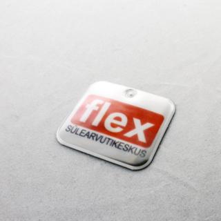 Helkur logoga - Flex sülearvutikeskus