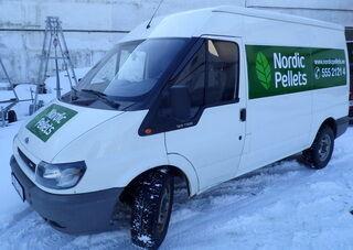 Autoreklaam Nordic Pellets-ile