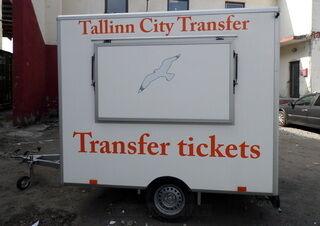 Tallinn City Trasfer reklaamkleebised