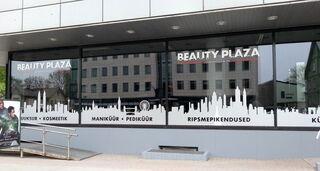 Beauty Plaza reklaamkleebised