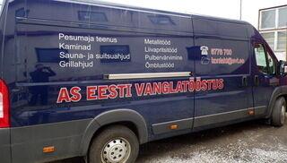 Eesti Vanglatööstuse reklaamkleebised