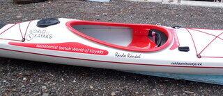 Word of Kayaks reklaamkleebised