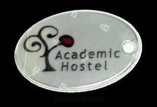 Ovaali pehmoheijastin Academic Hostel
