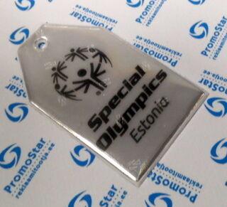 Muotoonstansattu pehmoheijastin Special Olympics Estonia