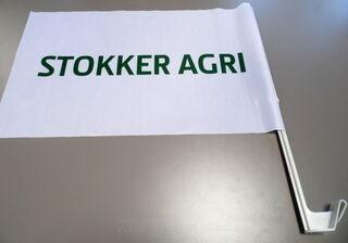 Autolippu kiinnityksellä Stokker Agri