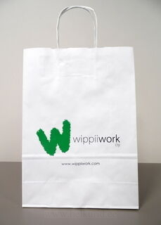 Wippiiwork trükiga paberkott