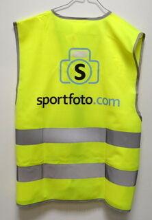 Helkurvest logoga Sportfoto