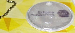 Ümmargune helkur Welcome to Estonia