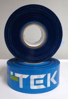 Rajoitusnauha logolla TEK