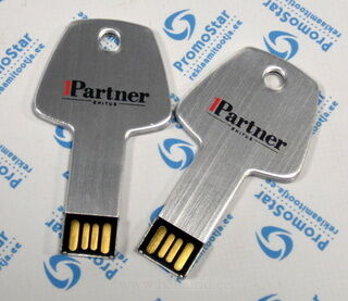 Avain muotoinen muistitikku 1Partner Ehitus