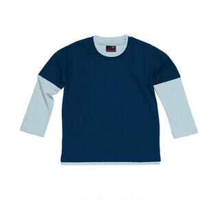 Boys Layered Long Sleeve Top