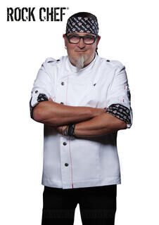 Fashionable Rock Chef`s Jacket