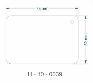 Helkur ristkülik 78x52mm