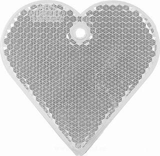 Helkur süda 57x57mm läbipaistev