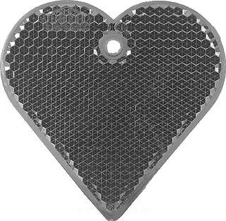 Helkur süda 57x57mm must
