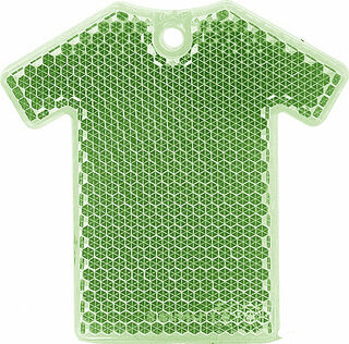Reflector T-shirt 64x63mm green